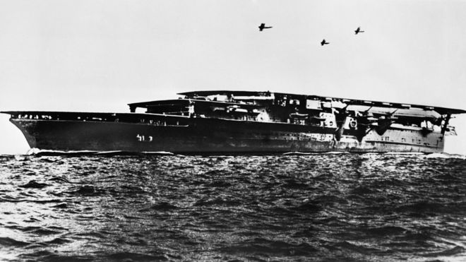 Researchers find wreckage of two Japanese ships sunk during World War Two
