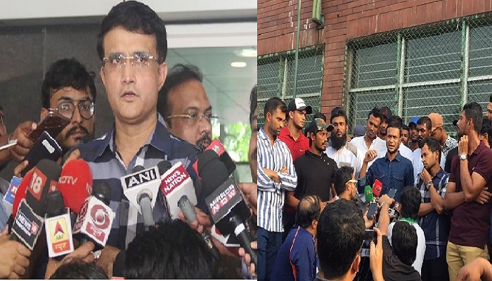 What Sourav says about Bangladesh cricketers' strike