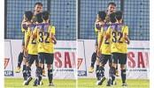 Laos's Young Elephants stuns Mohun Bagan by 2-1 victory