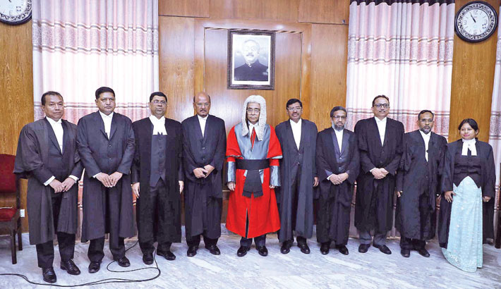 Nine new addl judges sworn in