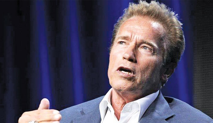 1984's Terminator was a small budget movie: Schwarzenegger