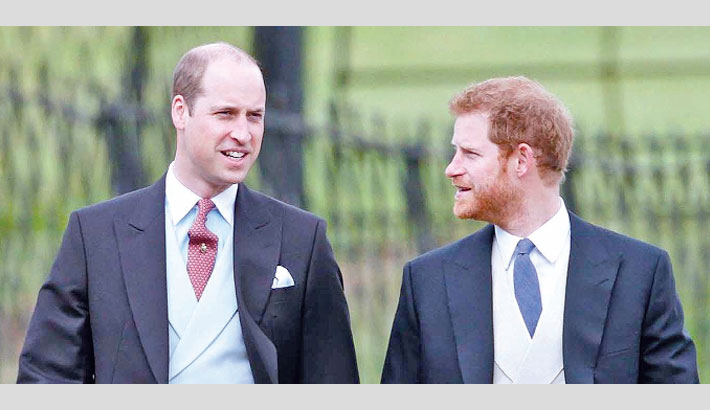 Prince Harry admits he and William are 'on different paths'