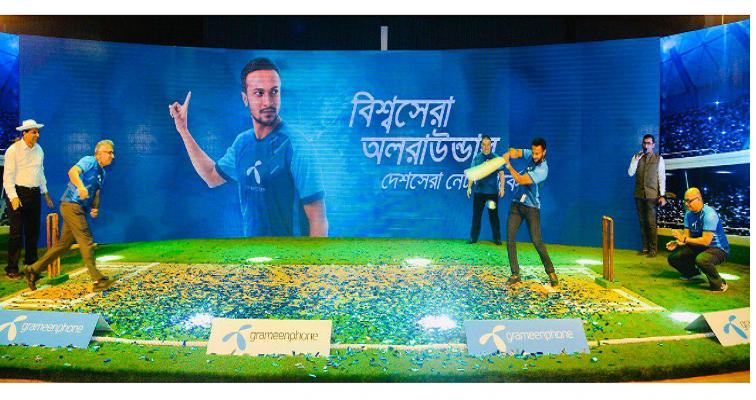 Shakib joins GP as new brand ambassador