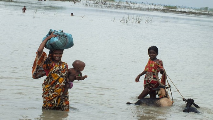 Over 19mn Bangladeshi kids at front line of climate change disasters: UN report