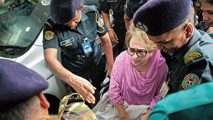 JOF seeks permission to meet Khaleda, steps as per jail code