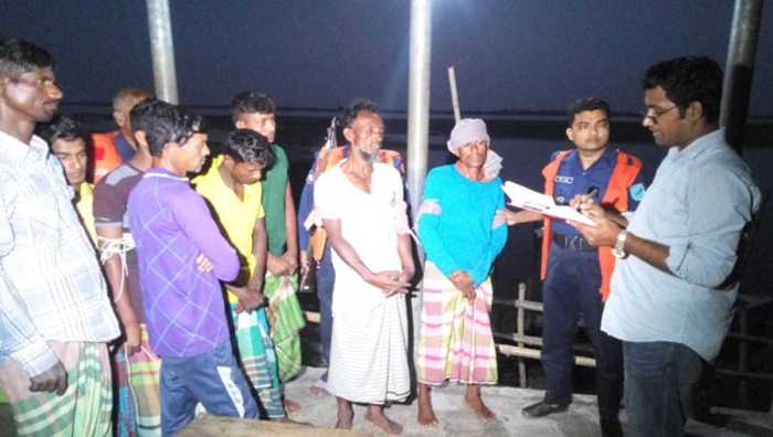 9 fishermen jailed, 20,000 meters fishing nets destroyed in Faridpur
