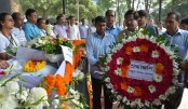 Tearful adieu to art maestro Kalidas Karmakar