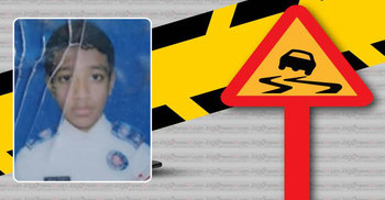 Schoolboy killed in Jashore road mishap