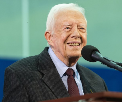Jimmy Carter hospitalized after fall at home