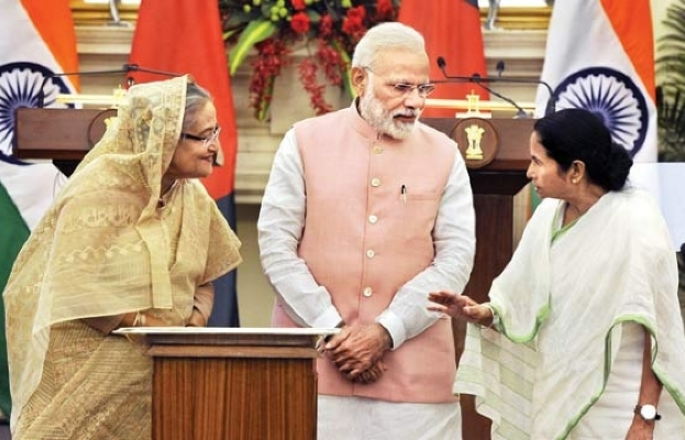 Hasina, Modi, Mamata likely to pad up at Eden Gardens for Teesta Test