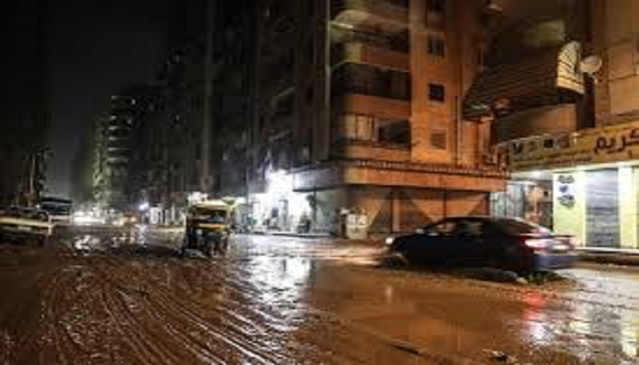 7 dead after heavy rains, flooding in Egypt