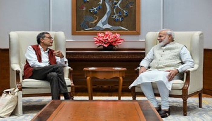 PM Modi, Nobel laureate Banerjee hold extensive discussions on varied issues