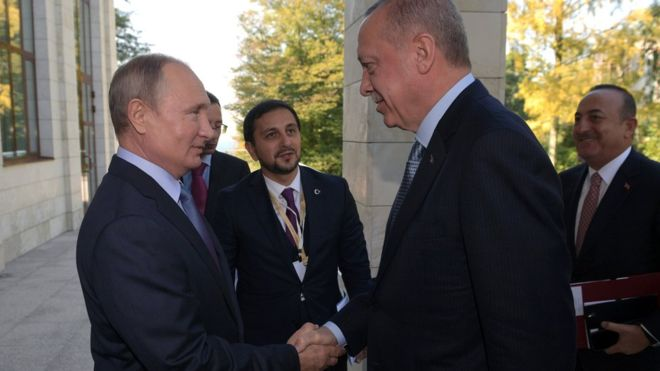Turkey Syria offensive: Erdogan and Putin strike deal over Kurds