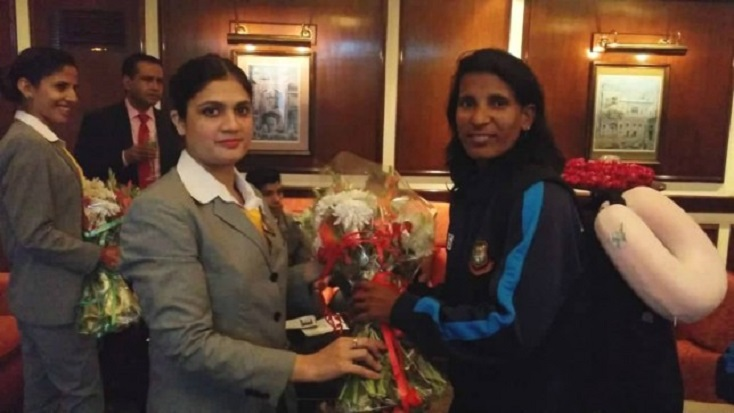 Bangladesh Women's team reaches Lahore for T20I series