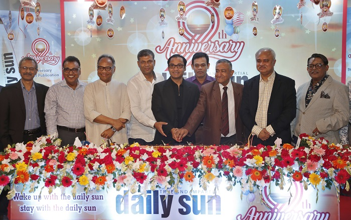 daily sun steps into 10th year of publication