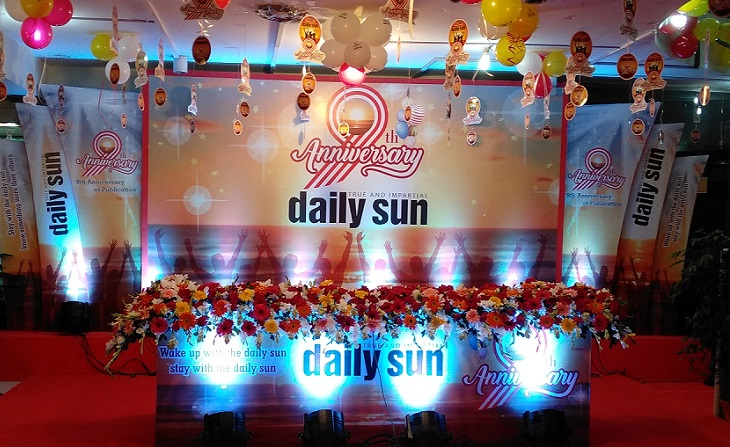 daily sun's ninth anniversary celebration begins today