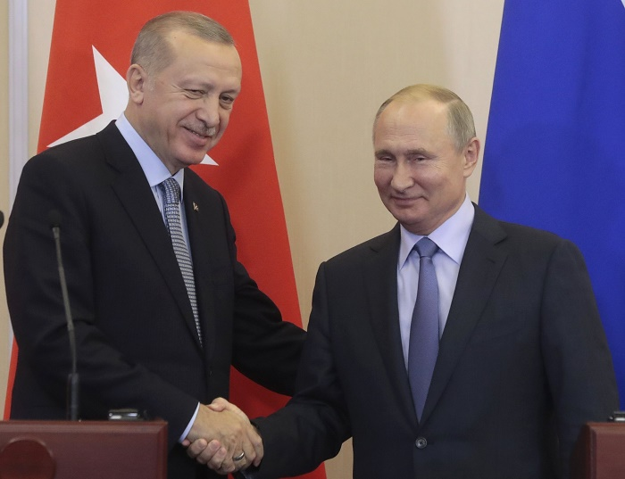 Russia, Turkey seal power in northeast Syria with new accord