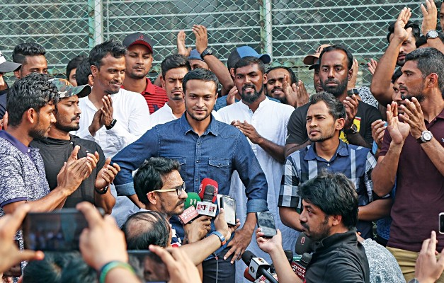 11-point demand: Cricketers brief media