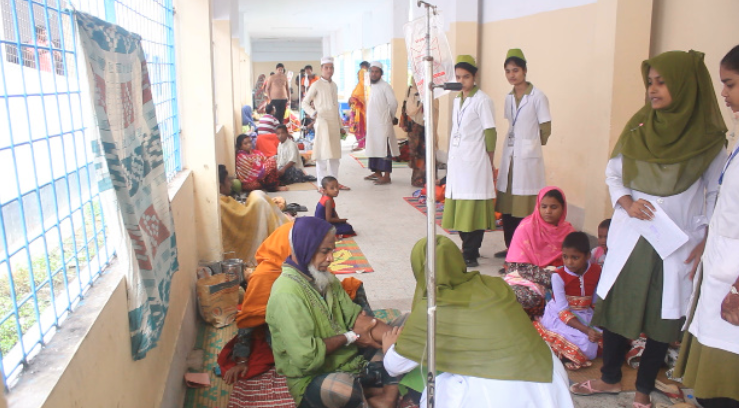 150 people hospitalised with diarrhoea in C'nawabganj