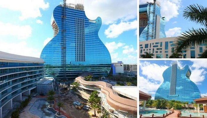 Florida welcomes world's first guitar-shaped hotel