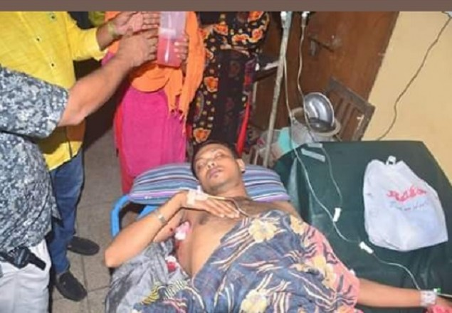 Khulna BCL leader wounded in gun attack