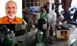 Foreign liquor, casino equipment found at Aziz Mohammad Bhai's Gulshan house