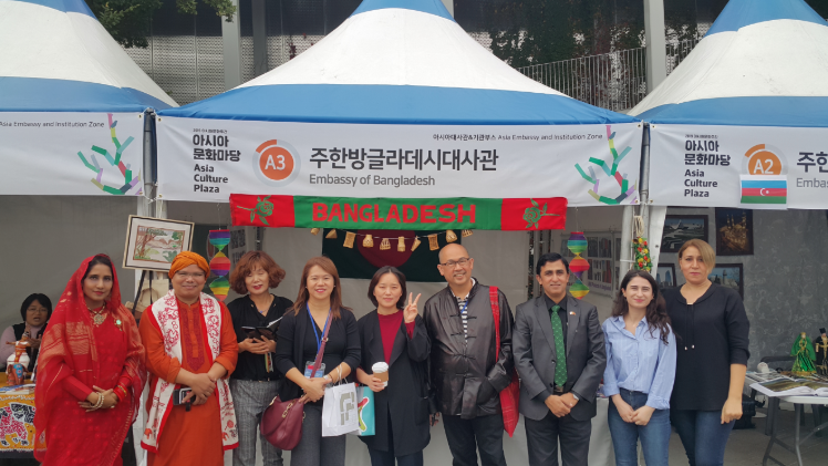 Bangladesh participates in 1st Asia Cultural Week-2019 Festival in Korea