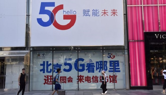 China rolls out 'one of the world's largest' 5G networks
