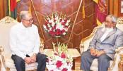 New cabinet secretary meets president
