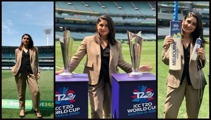 Kareena Kapoor unveils 2020 ICC World Cup trophies in Melbourne