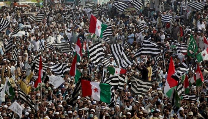 Pakistani Islamist party demands PM Imran Khan's resign