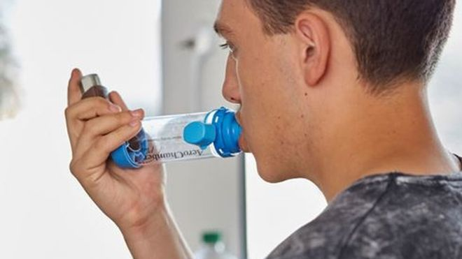 Asthma carbon footprint 'as big as eating meat'