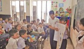 Three graders campaign for safe drinking water