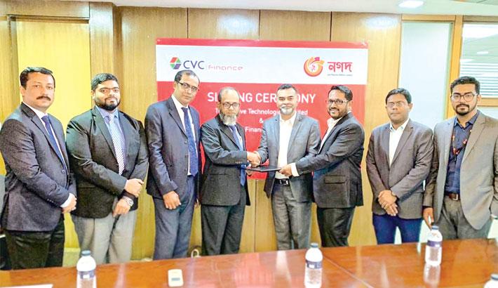 CVC Finance  inks deal  with 'Nagad'