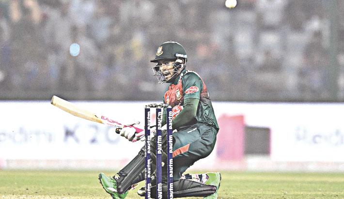 Mushfiq does it for Bangladesh