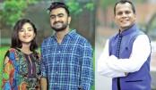 Imran, Labiba lend voice to Jibon's lyrics