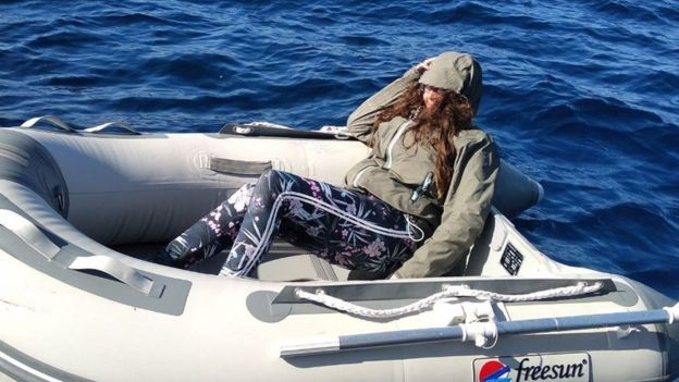 Tourist lost at sea off Greek island 'survived by eating sweets'