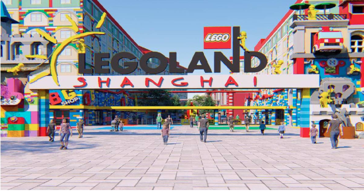 Legoland theme park to open in Shanghai