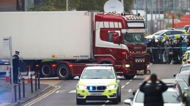 Essex lorry deaths: Bodies of victims have all been identified