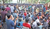 Protests continue despite JU closure