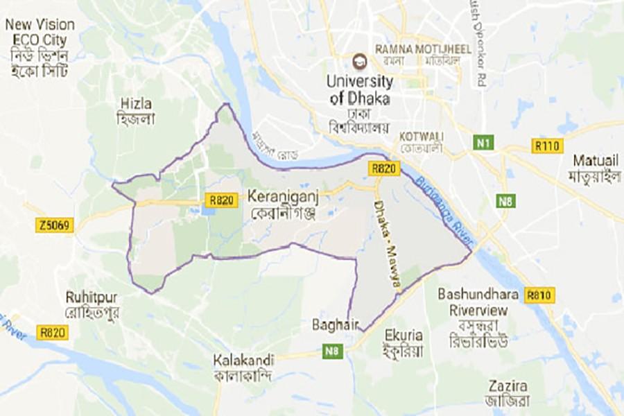 Truck kills father, son in Keraniganj