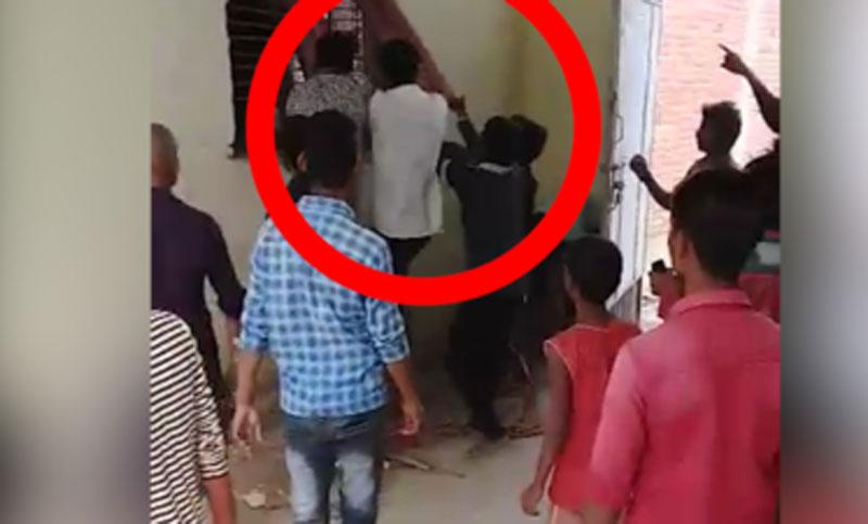 Allahabad students assault teacher, video goes viral