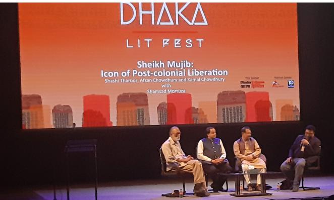 DLF 2019: Shashi Tharoor reflects on Bangabandhu's leadership