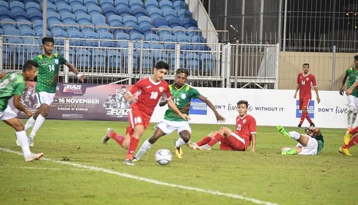 Bangladesh draw 1-1 with Jordan in AFC U-19 Qualifiers