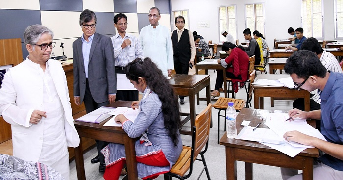 DU IBA admission test held