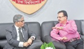 Indian Professor meets DU VC