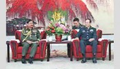 Army chief visits training programme of combined brigade in China