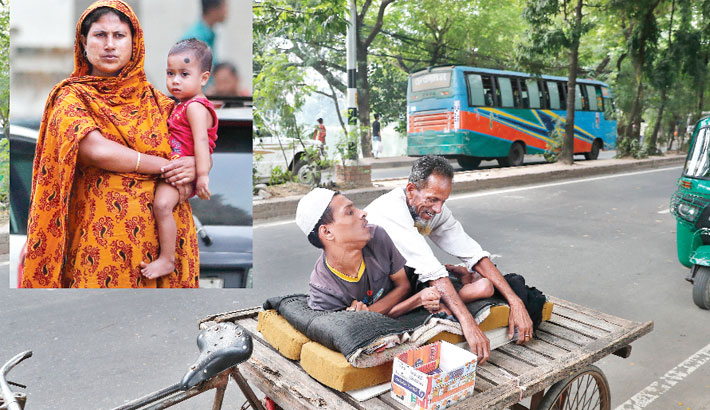 No love, but cruelty for handicapped child beggars