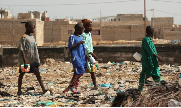 Thousands of boys forced to beg by religious schools in Senegal
