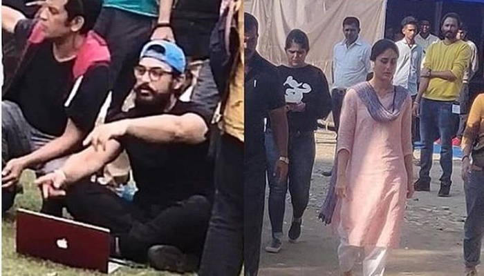 Kareena Kapoor and Aamir Khan spotted on Laal Singh Chaddha sets